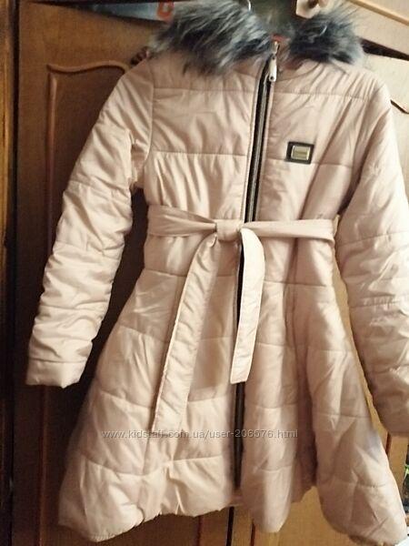 Пальто с  расклешенной юбкой