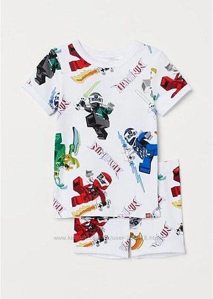 Качественная пижама H&M Lego мальчикам