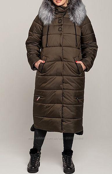 Зимняя длинная куртка-пальто, полная защита от холода