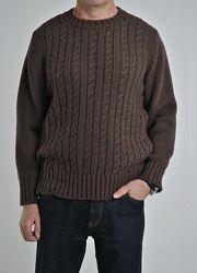 Самые стильные и роскошные свитера для мужчин с плетением коса