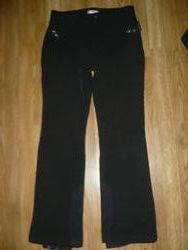 Штаны лыжные черные 164р. soft shell