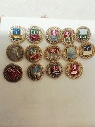 Значки СССР. Коллекция Золотое кольцо