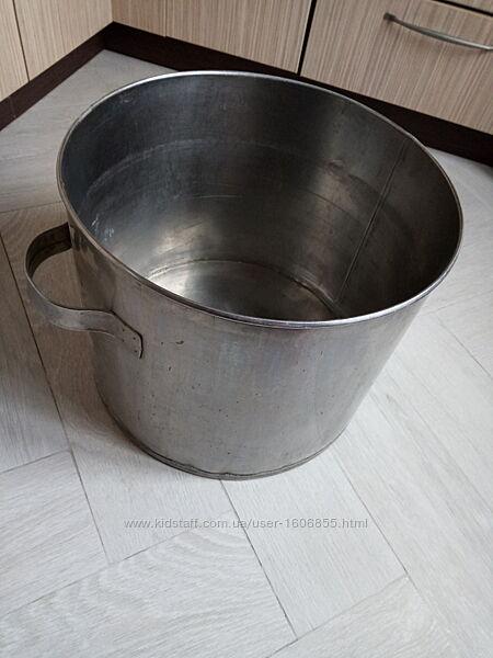 Ёмкость бак нержавеющая толстая сталь 40 л