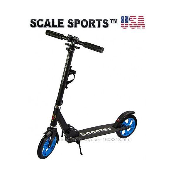 Самокат Scale Sports ss-05 черный