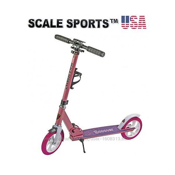 Самокат Scale Sports ss-05 розовый