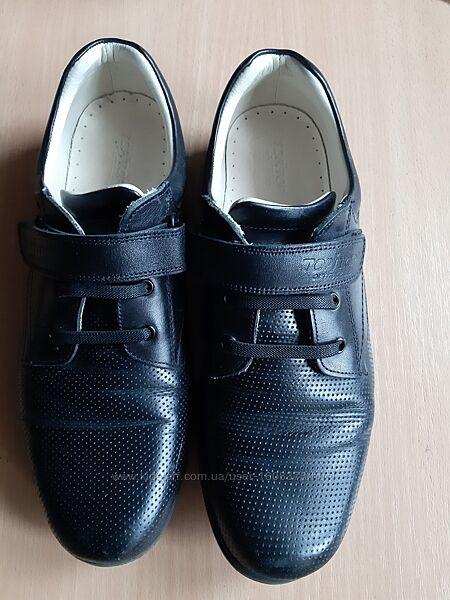 Туфли ортопедические из натуральной кожи внутри и снаружи, 37 р