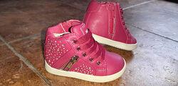 Зимние сапожки, деми ботинки для малышей, кожа, Бельгиия