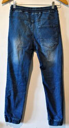 Стильные джинсы чиносы RESERVED р. 140 на 9-10 лет Указаны замеры