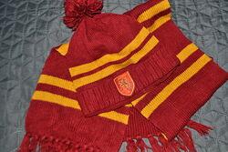 Комплект Шапка  Шарф Harry Potter от Reserved размер M/L 9-13 лет