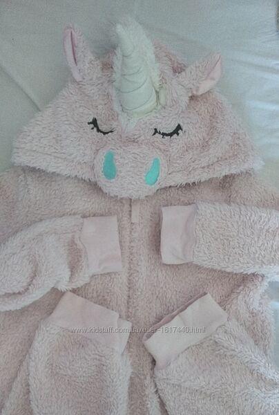 Кигуруми слип пижама . , Единорог
