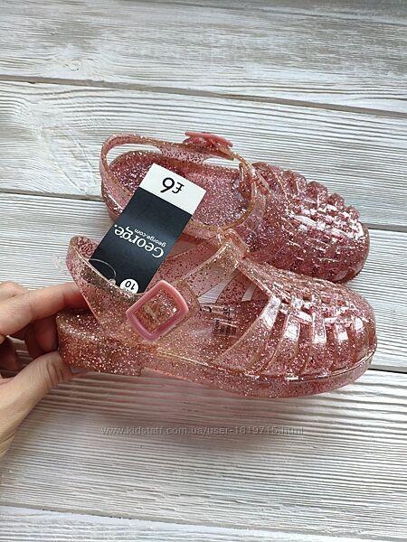 Босоножки сандалии кроксы  George