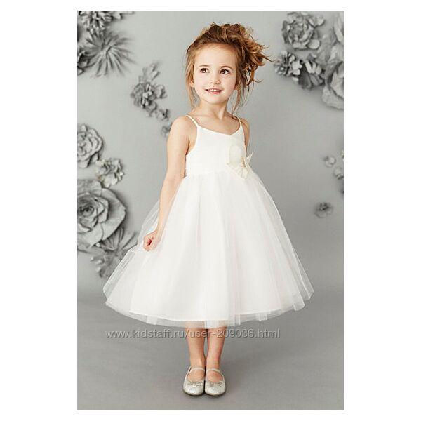 Шикарное платье для принцессы от next