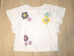 Стильная укороченная футболка фирмы Sfera