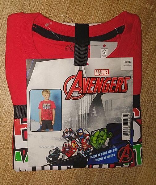 Пижама шорты и футболка Marvel Avengers