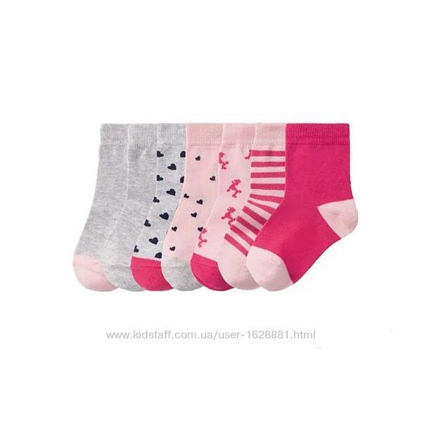 Комплекты носков 7 пар Lupilu