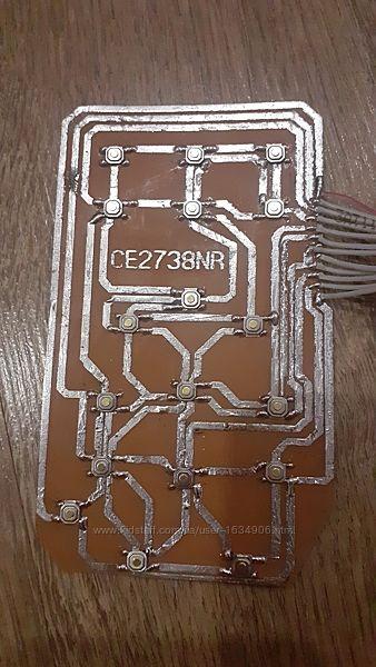 Клавиатура для микроволновки Samsung CE2738NR