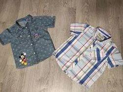 Sale. Крутые рубашки в отличном состоянии Next 4-6лет