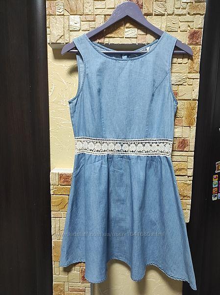 Sale. Джинсовое платье New Look р. XS-S очень крутое
