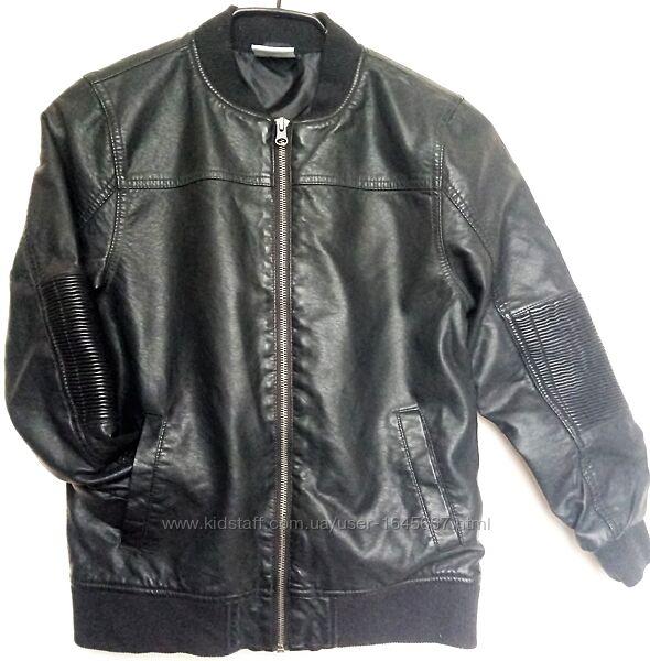 Куртка бомбер эко кожа Yigga Германия на 11лет 146см