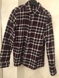 Фланелевая рубашка George в клетку р.135-140