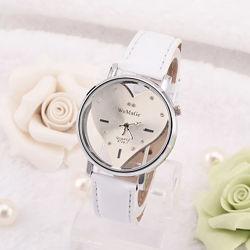 Женские наручные часы с циферблатом в форме сердца код 513