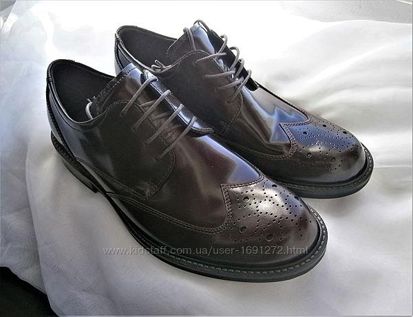 Туфли ecco kenton 512014 оригінал , натуральна кожа р.41
