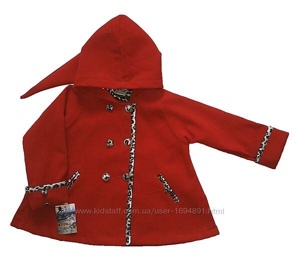 Детское демисезонное пальто для девочки Trigon 2 цв Petito club, Турция