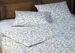 Льняное постельное белье, полуторное белье из льна