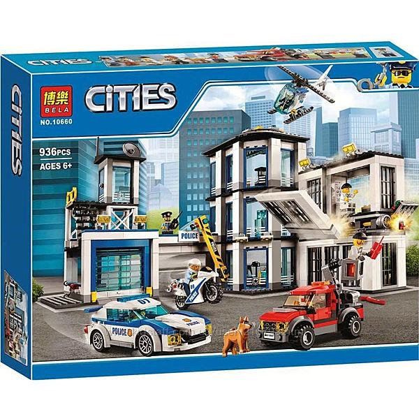 Конструкторы  Bela  Cities Полицейская серия
