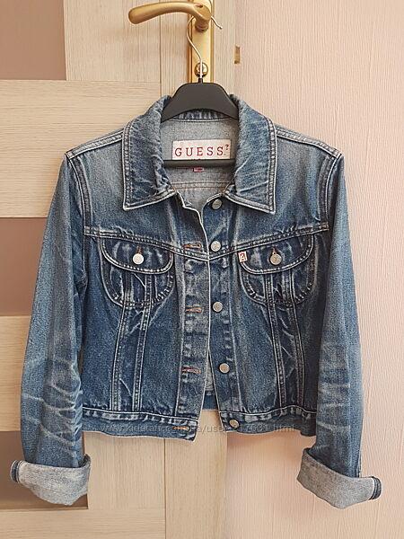 Джинсовая курточка Guess. Оригинал. Размер S