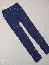 Легинсы под джинс, утепленные легинсы для девочки, лосины, легінси для дівч