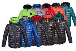 Демисезонная двухсторонняя куртка для мальчика от 2 до 15 лет