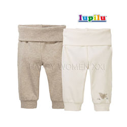 Набор штаны для мальчика 1-2 года Lupilu ползунки джогеры штаники штанці
