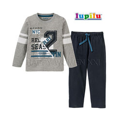 Пижама для мальчика 2-6 лет Lupilu домашняя одежда домашній одяг піжама
