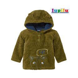 Флисовая кофта 6-12 м теплая кофточка малыш худи флиска меховушка капюшон