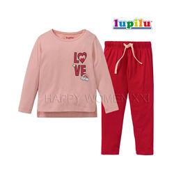 Пижама для девочки 2-6 лет лонгслив штаны піжама реглан штанці дівчинка
