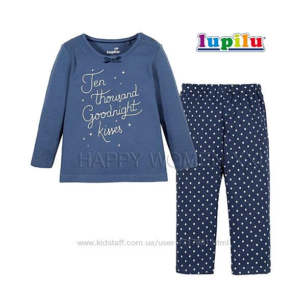 Пижама для девочки 4-6 лет лонгслив штаны піжама реглан штанці дівчинка