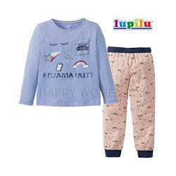 Пижама для девочки 2-4 года лонгслив штаны піжама реглан штанці дівчинка