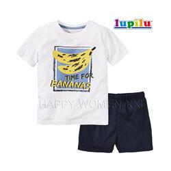 Летняя пижама для мальчика 2-4 года Lupilu шорты футболка летний комплект