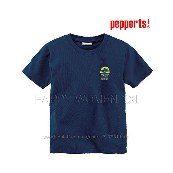 Футболка для мальчика 6-12 лет Pepperts хлопок подростковая футболочка