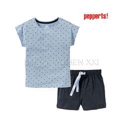 Летняя пижама для девочки 6-10 лет Pepperts піжама на дівчинку літня