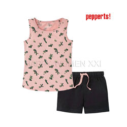 Летняя пижама для девочки 8-10 лет Pepperts піжама на дівчинку літня