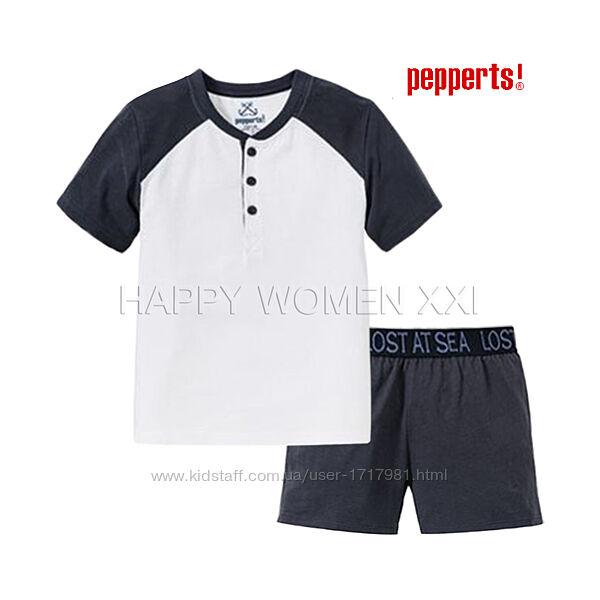 Летняя пижама для мальчика 8-10 лет Pepperts домашняя одежда піжама шорты