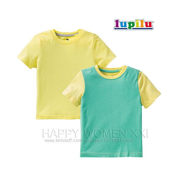 Набор футболок для мальчика 2-6 лет Lupilu детская футболка летняя одежда