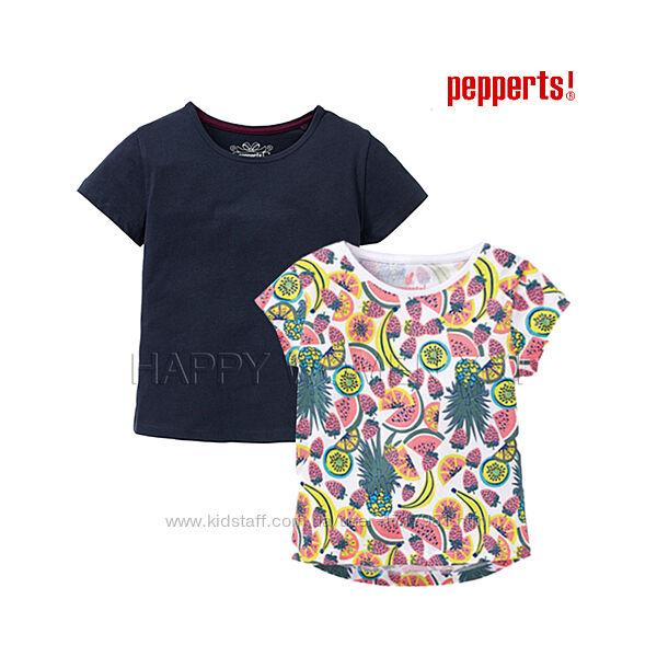 Набор футболок для девочки 8-12 лет Pepperts детская футболка на дівчинку