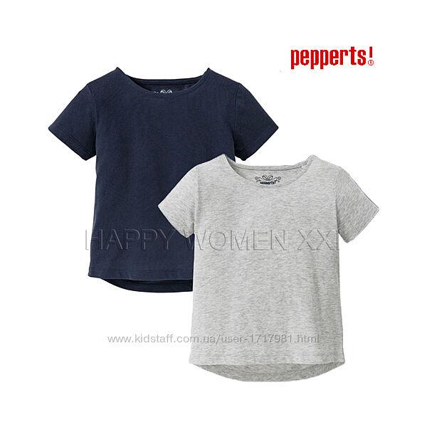 Набор футболок для девочки 8-10 лет Pepperts детская футболка на дівчинку
