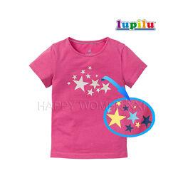 Футболка для девочки 1-6 лет Lupilu нарядная детская футболочка дитяча
