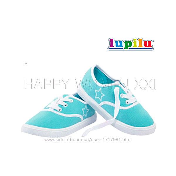 Практичные кеды для девочки 23-28 Lupilu летняя обувь взуття на дівчинку