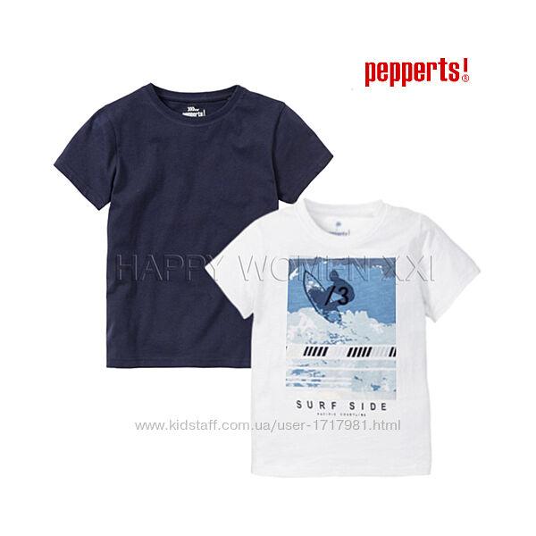 Набор футболок для мальчика 6-8 лет Pepperts детская футболка на хлопчика