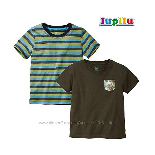 Набор футболок для мальчика 2-4 г Lupilu хлопковая детская дитяча футболка